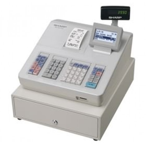 image else for Sharp Cash Register With Raised Keyboard/ White. Built-in Sd Card Slot For Easy Sales Data Transfer XEA207W