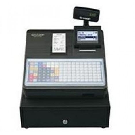 image else for Sharp Xea217b Cash Register With Flat Keyboard, Electronic Journal And Receipt Printer. Colour XEA217B