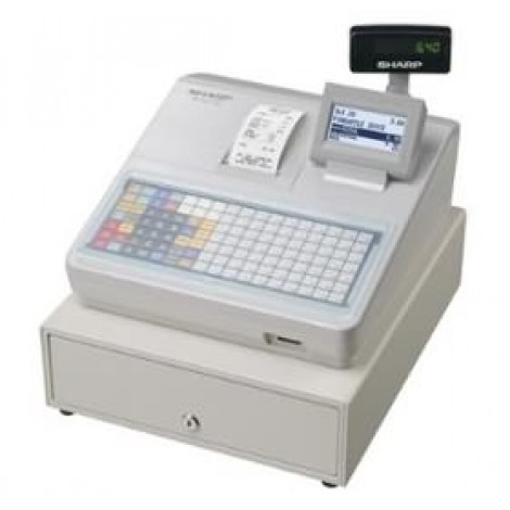image else for Sharp Xea217w Cash Register With Flat Keyboard, Electronic Journal And Receipt Printer. Colour XEA217W