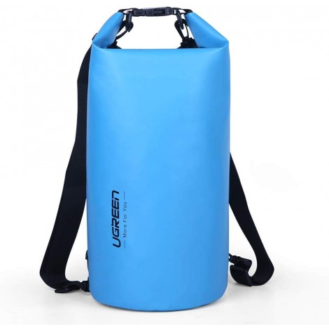 image else for Ugreen Floating Waterproof Dry Bag For Cycling/Biking/Swimming/Rafting/Water Sport - Blue Acbugn70112 ACBUGN70112