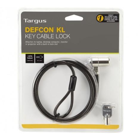 image else for Targus Defcon KL Laptop Cable Lock, 1.8m Vinyl Coated Security Cable With 2 Keys ASP48AU ASP48AU