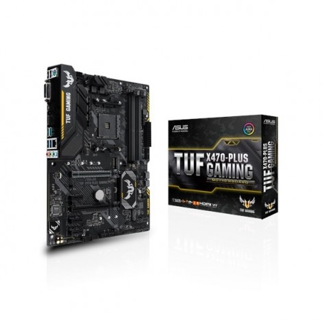 image else for Asus Tuf X470-plus Gaming Amd X470 Atx Motherboard [90mb0xl0-m0uay0] Asus-90mb0xl0-m0uay0 ASUS-90MB0XL0-M0UAY0