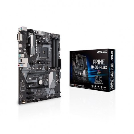 image else for Asus Prime B450-plus Amd B450 Atx Motherboard [90mb0yn0-m0uay0] Asus-90mb0yn0-m0uay0 ASUS-90MB0YN0-M0UAY0