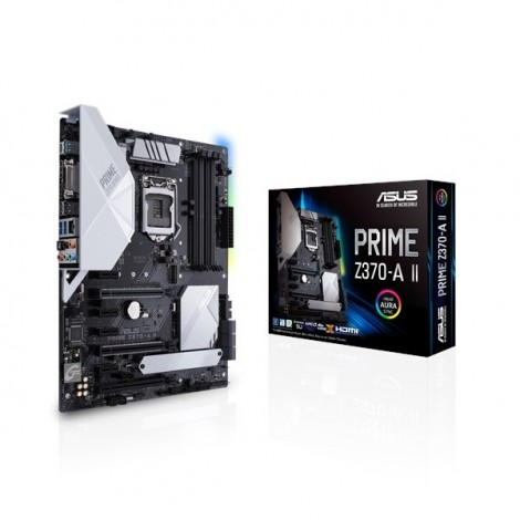 image else for Asus Prime Z370-A Ii Intel Z370 Atx Motherboard Asus-90Mb0Zt0-M0Uay0