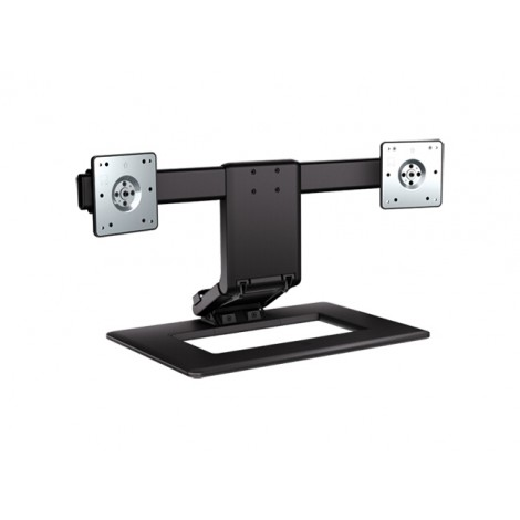 """image else for Hp Adjustable Dual Monitor Stand Hp Adjustable Dual Monitor Stand For Monitors Up To 24"""". Notebooks AW664AA"""
