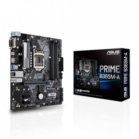 image else for ASUS Intel LGA-1151 mATX motherboard with LED lighting (PRIME-B365M-A) PRIME-B365M-A