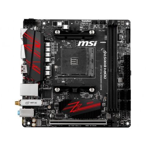 image else for Msi Amd B450 Am4 Itx Gaming Motherboard 2xddr4 1x Pci-e X 16 Hdmi Display Port 1x M.2 Intel Wifi B450I GAMING PLUS AC