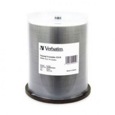 image else for Verbatim Cd-R 700Mb 100Pk White Wide Thermal 52X - 95254 95254 95254