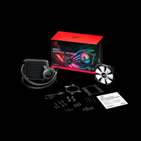 image else for Asus Rog Strix Lc 120 Rgb All-In-One Liquid Cpu Cooler  ROG STRIX LC 120 RGB
