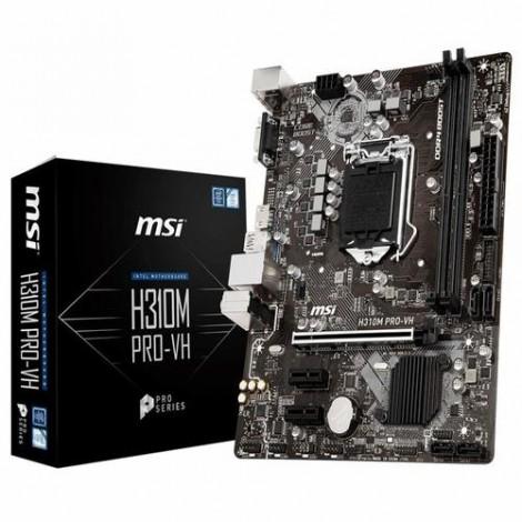 image else for Msi H310M Pro-Vh Matx Motherboard - S1151 8Gen 2Xddr4 3Xpci-E 2Xusb3.1 4Xusb2.0 1Xhdmi 1Xd-Sub H310M PRO-VH