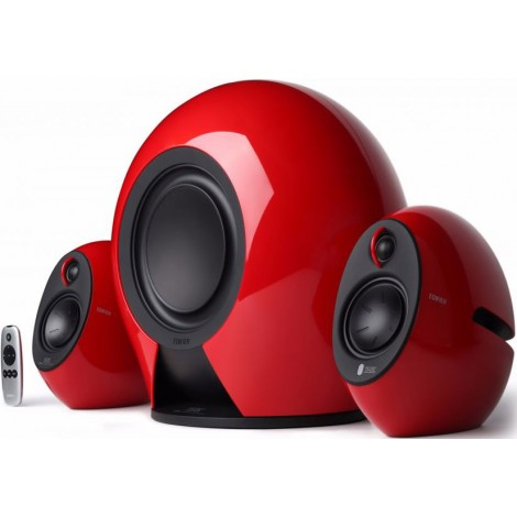 image else for Edifier E235 Luna E 2.1 Thx-Certified Active Blutooth Speaker Red - Bt/ 3.5Mm/ Optical 5.8G Wireless E235-RED