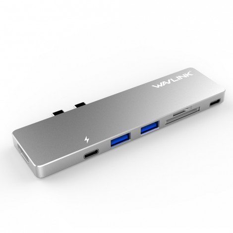 image else for Wavlink Usb-c Hub With Type-c 4k Hdmi Usb 3.0 & Card Reader Wl-uhp3405m WL-UHP3405M