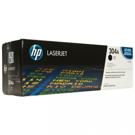 image else for Hp Cc530a Clj Cp2025 Black Print Cartridge With Colorsphere Toner CC530A