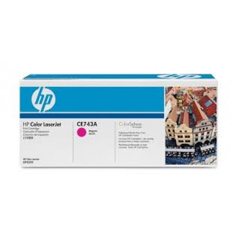 image else for Hp Ce743a Clj Cp5220 Magenta Print Cartridge With Colorsphere Toner CE743A