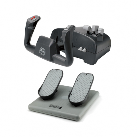 image else for Ch Aviator Pack Includes Both The Flight Sim Yoke (usb) & Pro Pedals (usb) CH-AVIATOR
