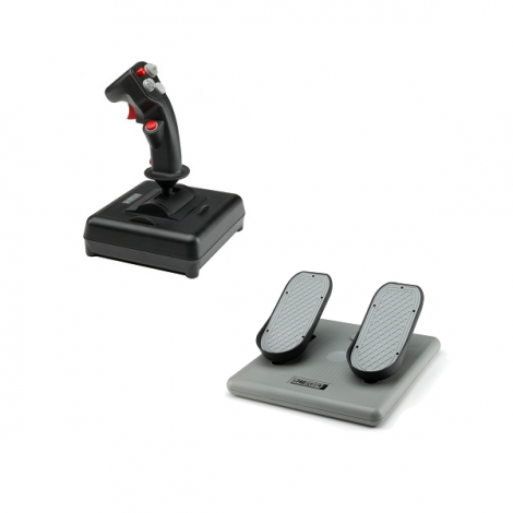 image else for Ch Products Finest Hour Pack For Pc & Mac (inc Usb Combatstick + Pro Pedals) Ch-finesthour CH-FINESTHOUR
