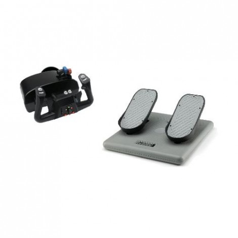 image else for Ch Racer Pack - Includes Both The Eclipse Yoke For Flight & Racing Sims (usb) & Pro Pedals (usb) CH-RACER
