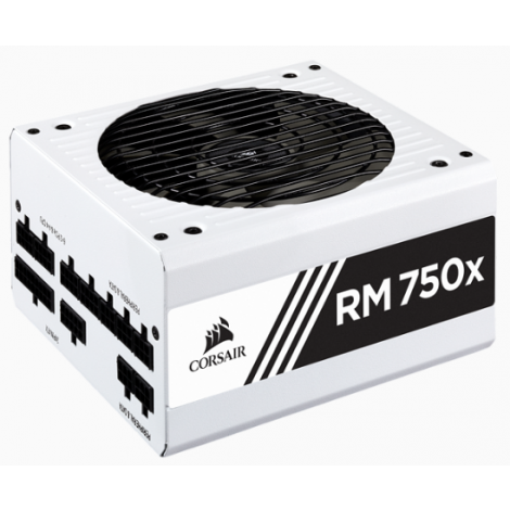 image else for Corsair Rmx White Series Rm750X White 750 Watt (750W) 80 Plus Gold Certified Fully Modular Power CP-9020187-AU
