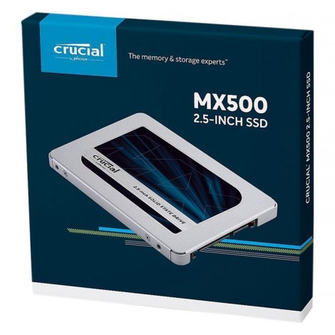 "image else for Crucial MX500 1TB 3D Nand SATA 2.5"" SSD CT1000MX500SSD1, 560 Mb/s Read/ 510 Mb/s Write CT1000MX500SSD1"