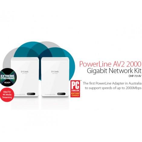 image else for D-LINK PowerLine AV2 2000 Gigabit Network Kit DHP-701AV 209172 DHP-701AV