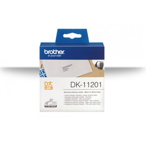 image else for Brother Dk11201 White Std Address Labels, 29mm*90mm 400 Labels Per Roll DK-11201