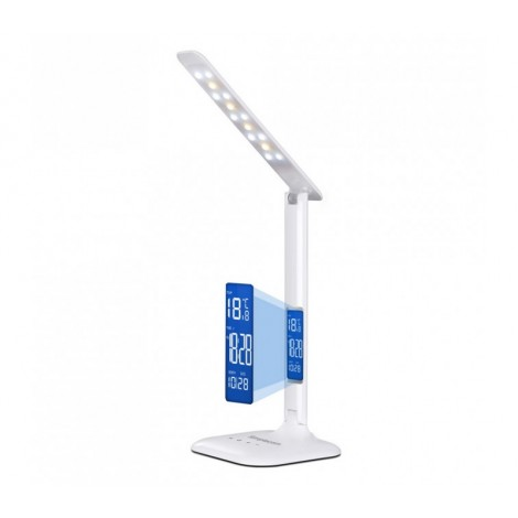 image else for Simplecom EL808 Dimmable Touch Control Multifunction LED Desk Lamp 4W with Digital Clock EL808