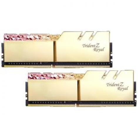 image else for G.Skill Tz Royal 16G Kit (2X 8G) Ddr4 3000Mhz Pc4-24000 16-18-18-18 1.35V Dimm Gold Colour F4-3000C16D-16Gtrg F4-3000C16D-16GTRG