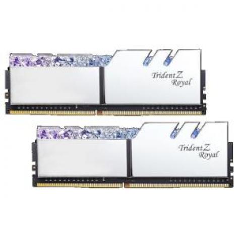 image else for G.Skill Tz Royal 16G Kit (2X 8G) Ddr4 3000Mhz Pc4-24000 16-18-18-18 1.35V Dimm Silver Colour F4-3000C16D-16Gtrs F4-3000C16D-16GTRS