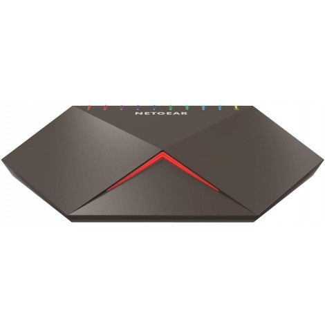 "image else for Netgear ""Nighthawk Sx10"" Gs810Emx 8-Port Switch With 2X 10G/ Multi-Gig Uplinks Gs810Emx-100Aus GS810EMX-100AUS"