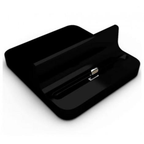 image else for Docking Station Charger For Ipad 4/ Ipad Mini/ Iphone 5 Desktop Data Sync Cradle Dock Black