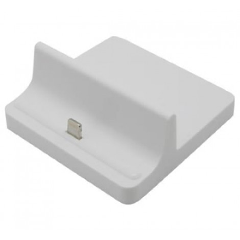 image else for Docking Station Charger For Ipad 4/ Ipad Mini/ Iphone 5 Desktop Data Sync Cradle Dock White