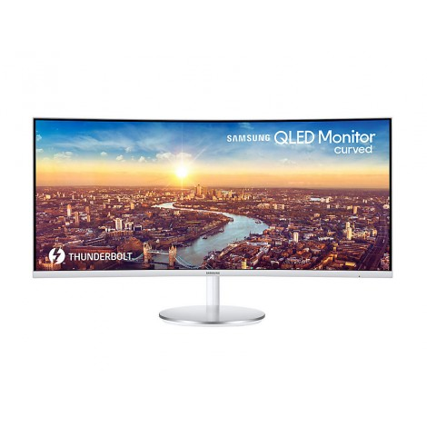 "image else for Samsung Cj79 34"" Uwqhd Qled Curved (21:09) 3440x1440 Q-dot 100hz 4ms 2x Thunderbolt 3 Dp Hdmi Usb"