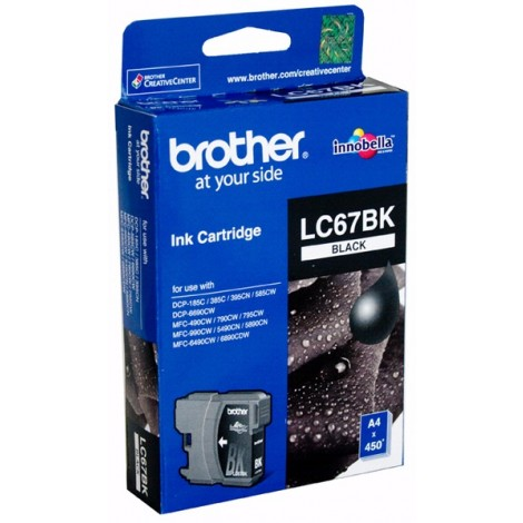 image else for Brother Lc67bk Black Ink Cartridge For Dcp-385c