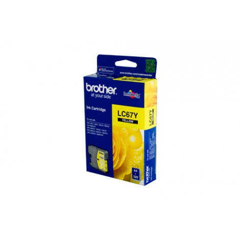 image else for Brother Lc67y Yellow Ink Cartridge For Dcp-385c