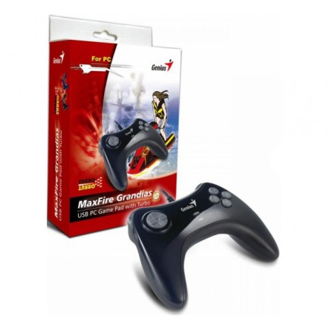 image else for Genius Maxfire Grandias Usb Game Pad, 8-way D-pad, 8 Action Buttons/ 4 Side Buttons, Turbo Function MaxFire Grandias
