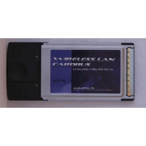 image else for Minitar Mnw2bpcm 802.11b Cardbus Pcmcia Wireless Adapter