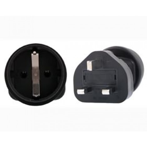 image else for Schuko To Uk 3 Pin Plug Adapter PA-6023