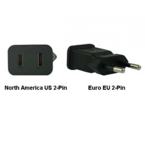 image else for North America Us To Euro Eu Power Adapter Plug PA-2121