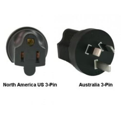 image else for North America Us 3-pin To Australia Power Adapter Plug PA-3515