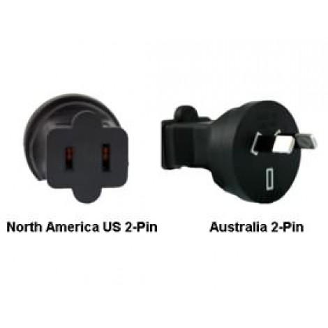 image else for North America Us To Australia Power Adapter Plug PA-3621