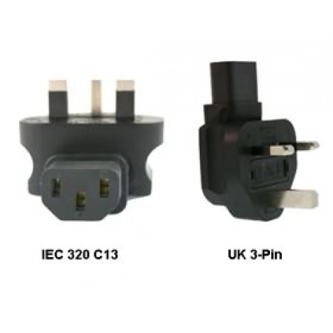 image else for Iec 320-c13 To Uk 3-pin Power Adapter PA-6012L