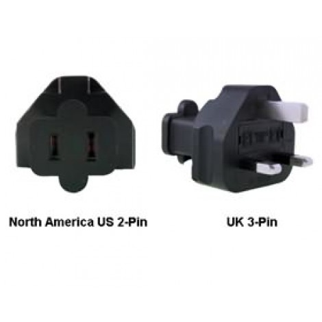 image else for North America Us To Uk Power Adapter Plug PA-6021