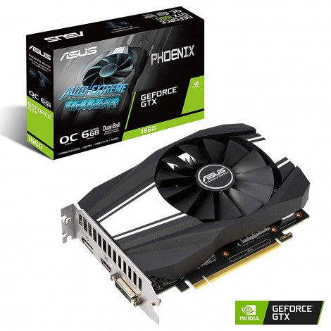 image else for Asus Phoenix Geforce® Gtx 1660 Oc Edition 6Gb Gddr5 Rocks High Refresh Rates For An Fps Advantage PH-GTX1660-O6G