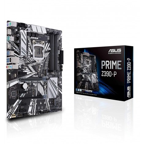 image else for Asus Prime-z390-p Lga 1151 Atx Motherboard - Z390 Chipset - 4x Dimm Ddr4 Up To 64gb - 4x Sata PRIME Z390-P