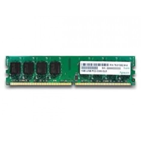 image else for Apacer Ddr2 Pc5300-1gb 64x8 Cl5 Retail Pack CL.01G2A.F0M