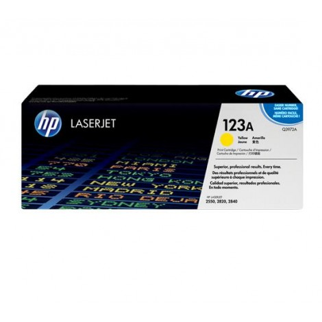 image else for Hp Q3972a Yellow Toner Cartridge For Clj2550