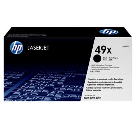 image else for Hp Q5949x Black Toner Cartridge For Lj1320, 6000 Pages Q5949X