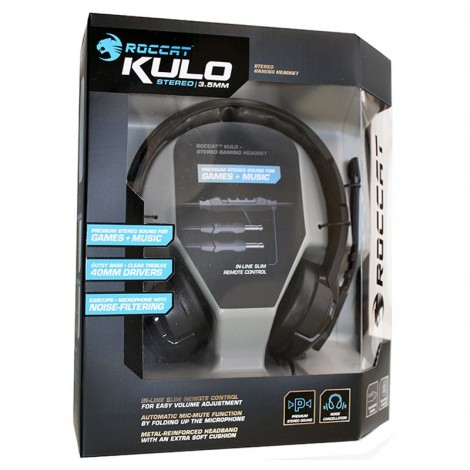 image else for Roccat Kulo Premium Stereo Gaming Headset with Mic ROC-14-600-AS ROC-14-600-AS