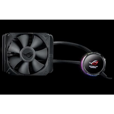 image else for Asus Rog-Ryuo-240 Aio Oled Liquid Cpu Cooler - 2X 120Mm Fan (800 2500 Rpm +/ - 10 %) Fan Static ROG RYUO 240