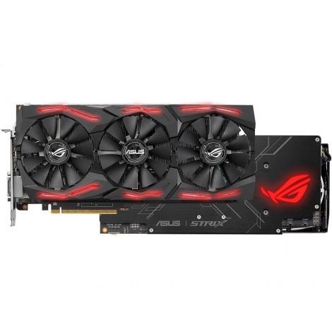 image else for Asus Rog Strix Radeon Rx Vega64 8gb Oc Edition Vr Ready 5k Hd Gaming Dp Hdmi Dvi Amd Gaming Graphics ROG-STRIX-RXVEGA64-O8G-GAMING